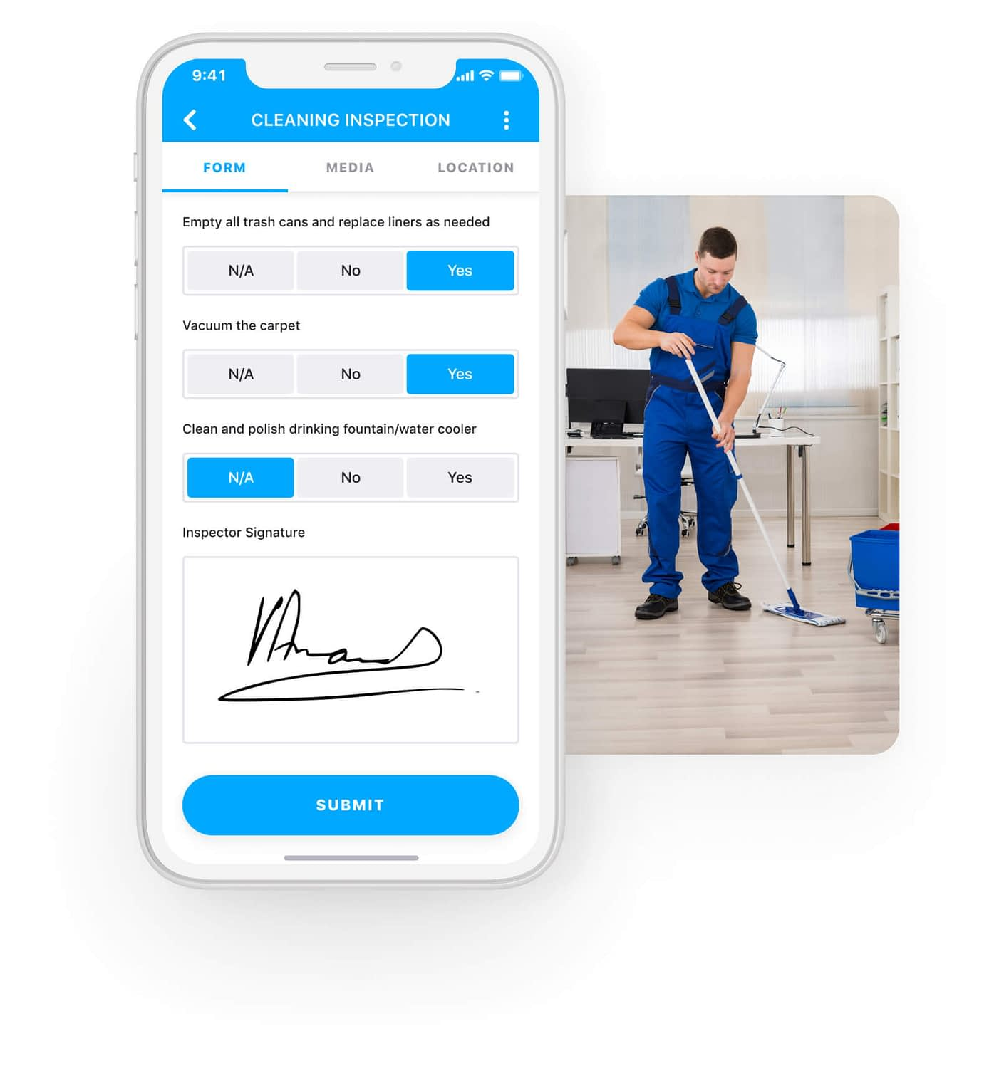 Digitize your cleaning inspections