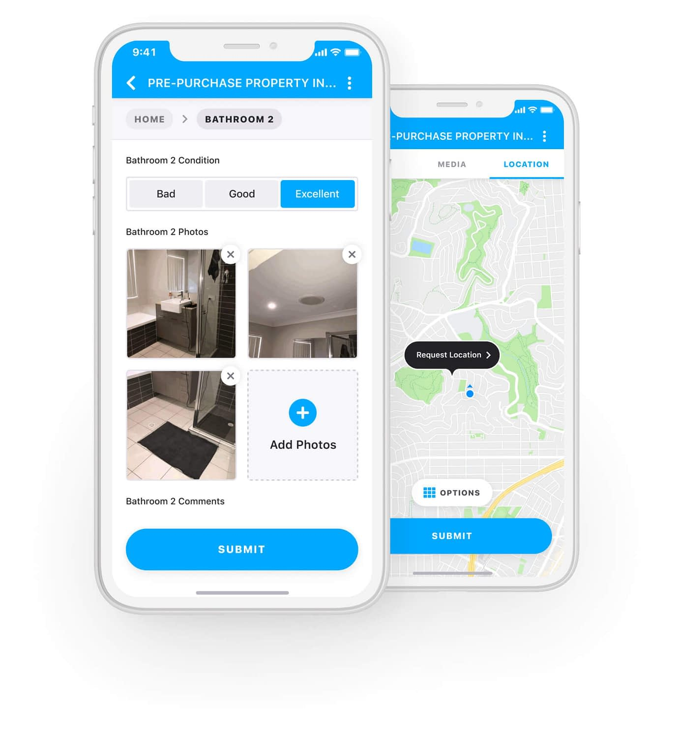 Pre Purchase Property Inspection App - Section 1